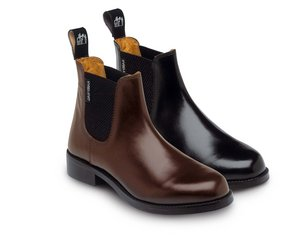 Harry Hall Buxton Jodhpur boots - Riding Yard Boot Black size 4  Preview