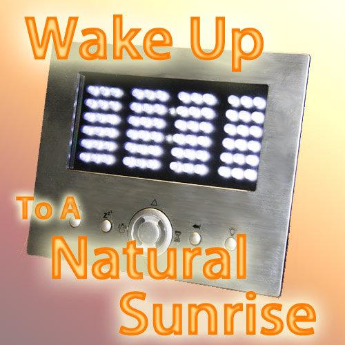 natural sunrise alarm clock sad light. Black Bedroom Furniture Sets. Home Design Ideas