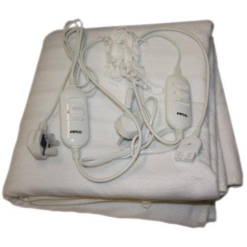 pifco king size electric blanket bedding cybercheckout. Black Bedroom Furniture Sets. Home Design Ideas
