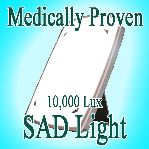 details about sad light box lamp s a d light therapy 10 000 lux. Black Bedroom Furniture Sets. Home Design Ideas