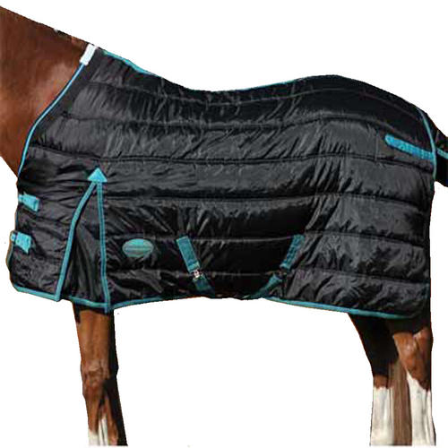 Stable Rugs For Horses Stable Rug Blk/turq 6'0