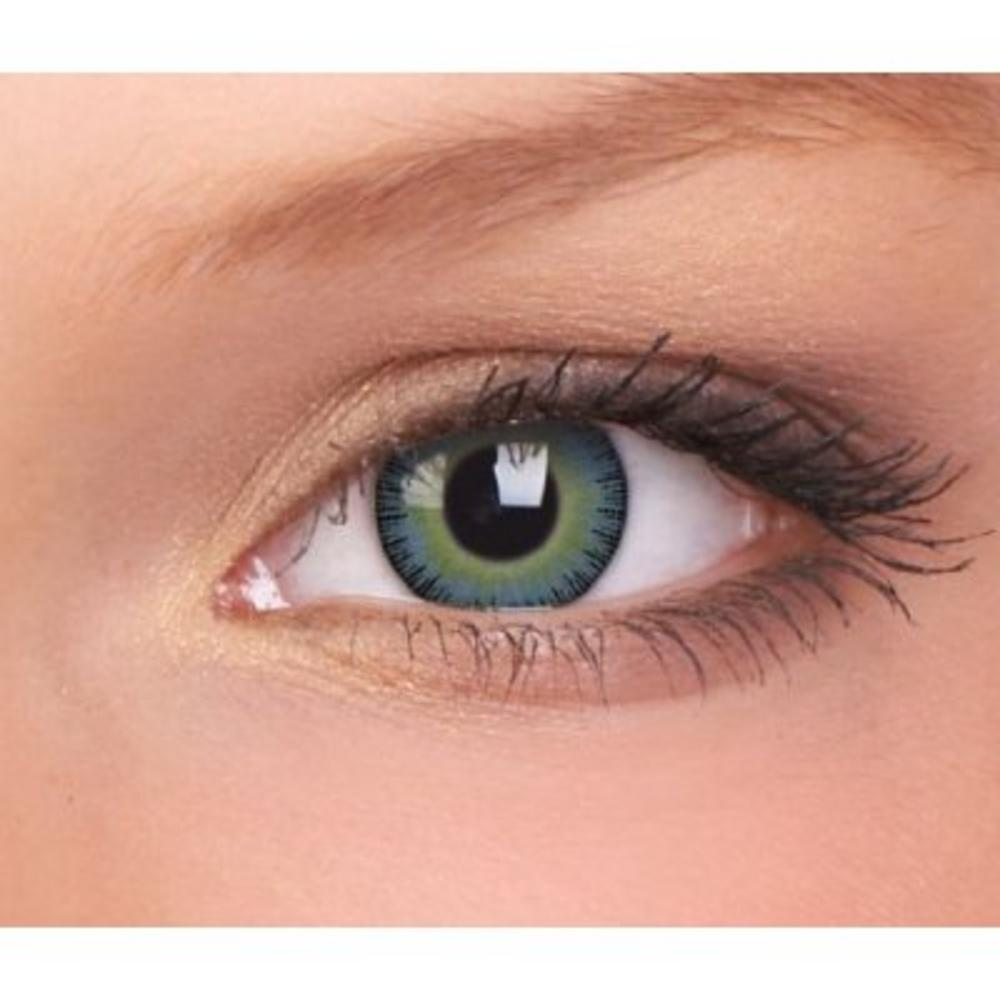 Contacts: Fusion Coloured Fashion Contact Lenses & Case
