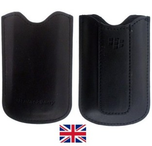 GENUINE BlackBerry Pouch Case Pocket PEARL 8100 8120 UK Enlarged Preview