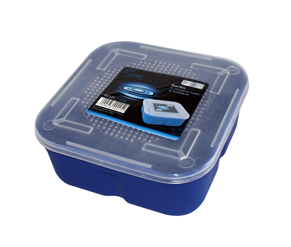 Live bait box boyz toys gone fishing breathable lid for Fishing bait box