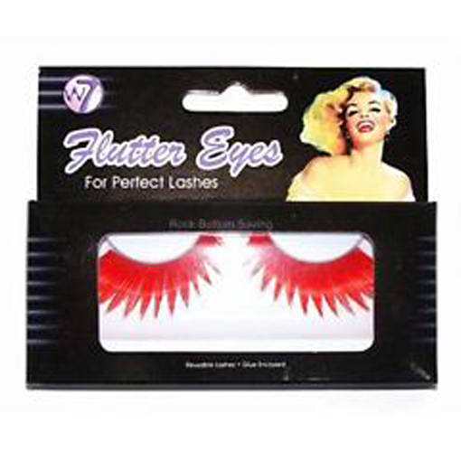W7 Flutter Eyes Reusable False Eye Lashes with Glue 051 Enlarged Preview