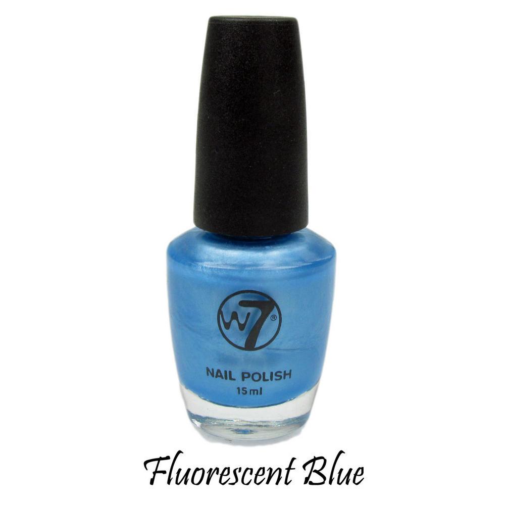 17 Fluorescent Blue 15ml NEW Nail