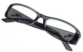 Gone Optical 1 Pair of New Black Plastic Framed Reading Glasses +1.50 Preview