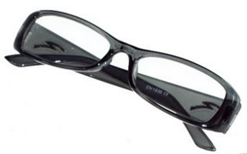 optical 1 pair of new black plastic framed reading