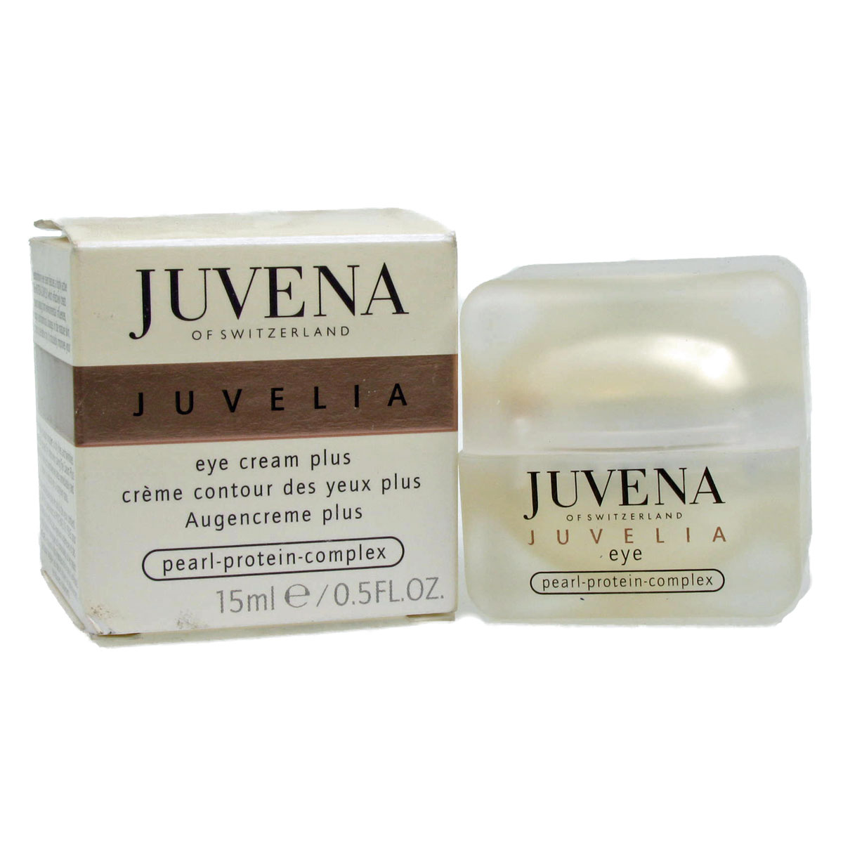 Juvena Juvelia Eye Cream Plus 15ml Free UK P&P BNIB Enlarged Preview