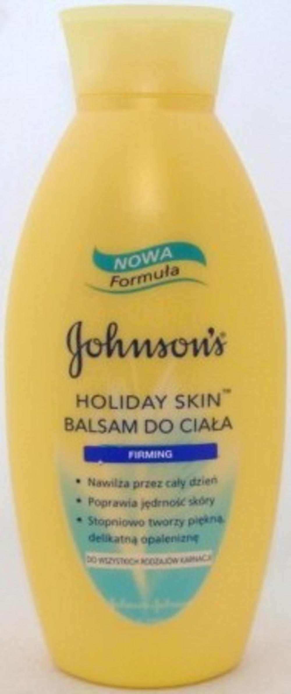 Johnson & Johnson holiday skin - Daily facial moisturiser