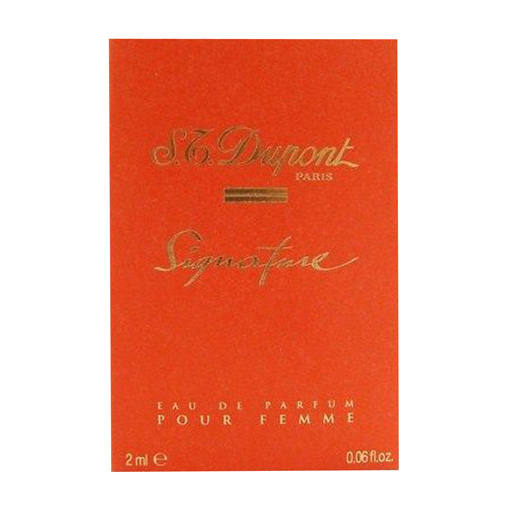 Dupont Signature Eau De Parfum Pour Femme 2ml Vial MINI Enlarged Preview