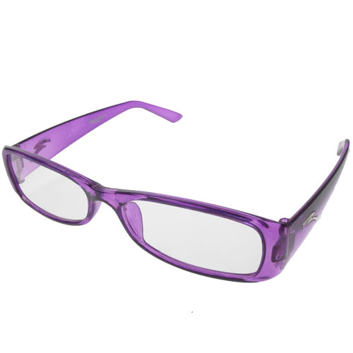 Pair of New Purple Plastic Frame Reading Glasses +2.00 eBay