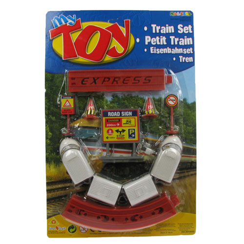 My Toy Train Activity Set with Train, Tracks & Signs Enlarged Preview