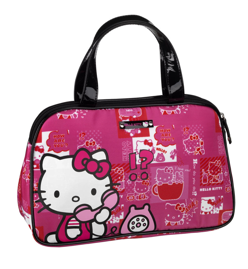 hello kitty travel bags leather travel bags. Black Bedroom Furniture Sets. Home Design Ideas