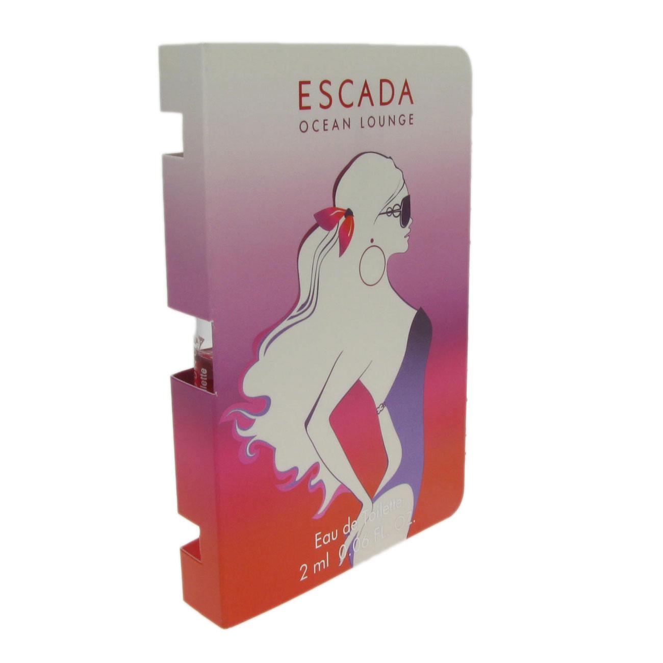 Escada Ocean Lounge Perfume Fragrance Spray For Women by Escada 2ml ...