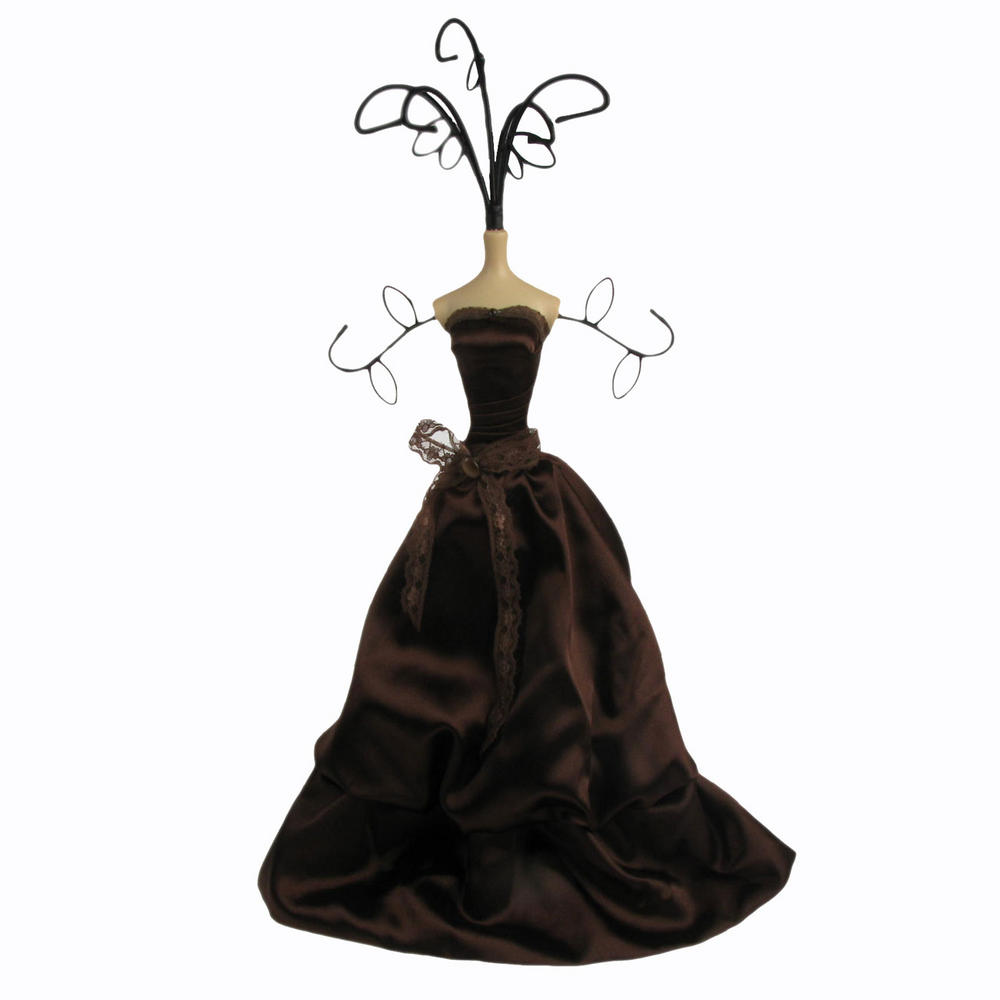 Chic Mannequin Shabby Jewellery Necklace Stand Tree Dark