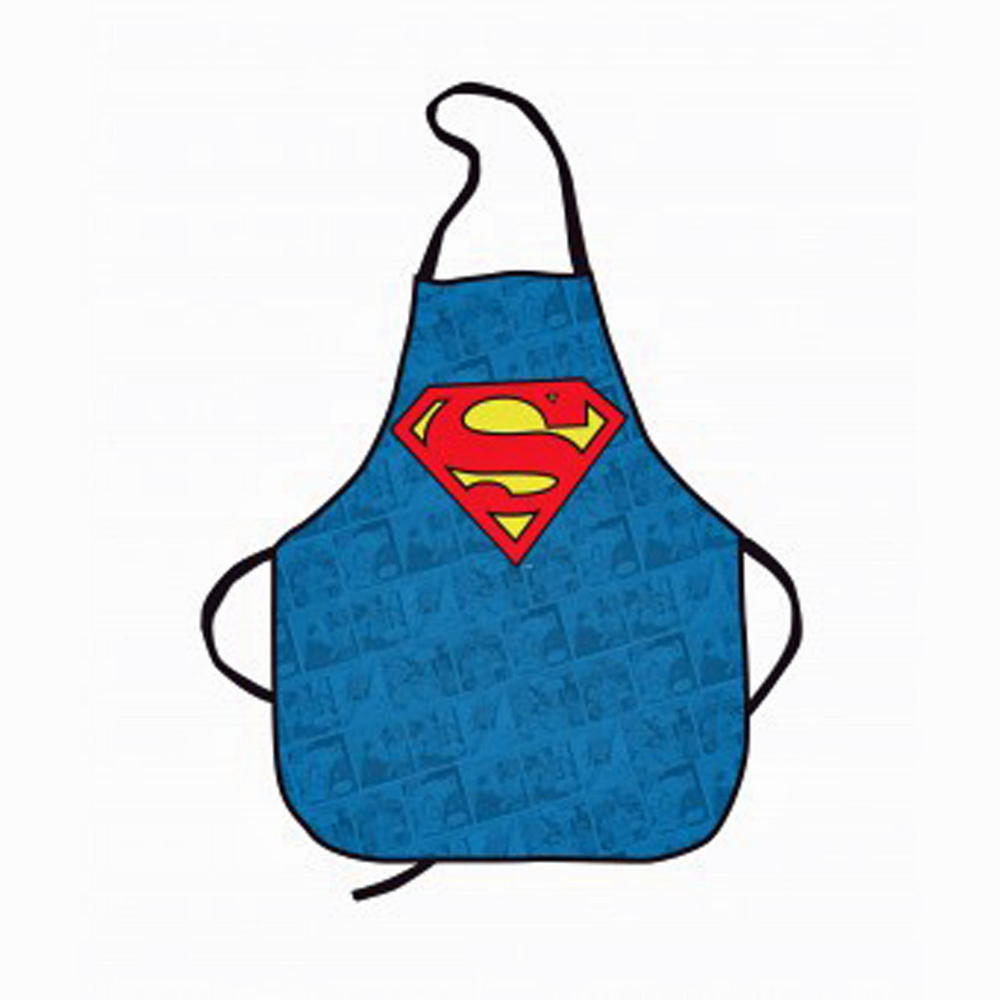Superman Comic Strip Chef Novelty Cooking Apron Kitchen ...