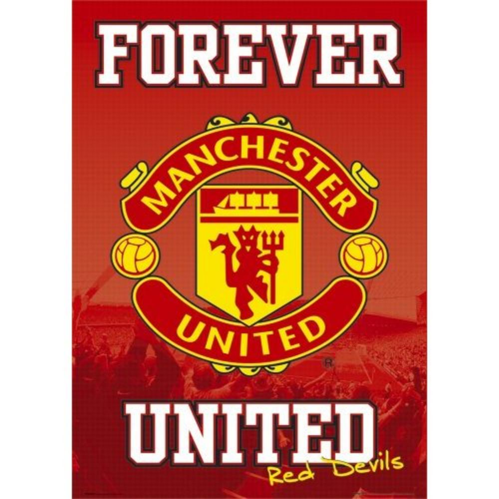 Manchester United, Forever, Maxi Poster, (61x91.5cm ...