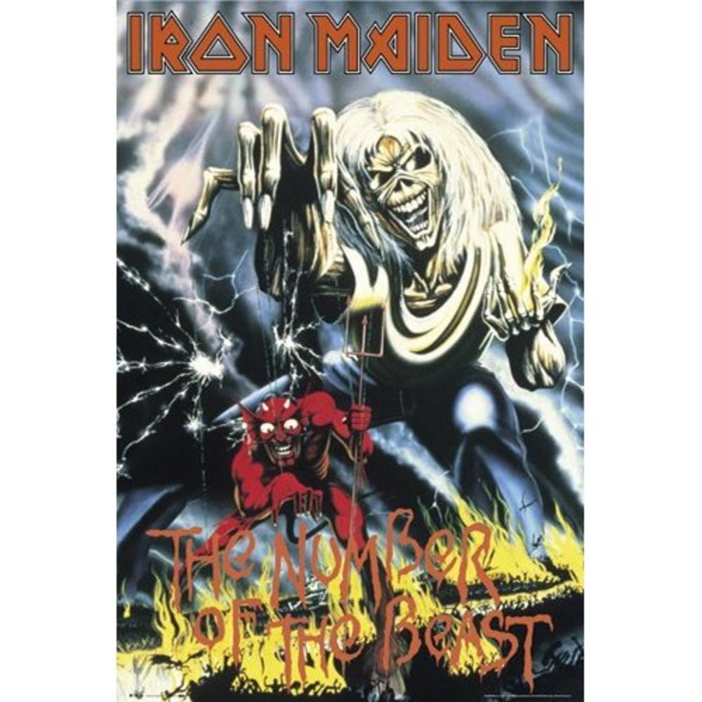Iron Maiden Number Of The Beast Maxi Poster 61 Cm X