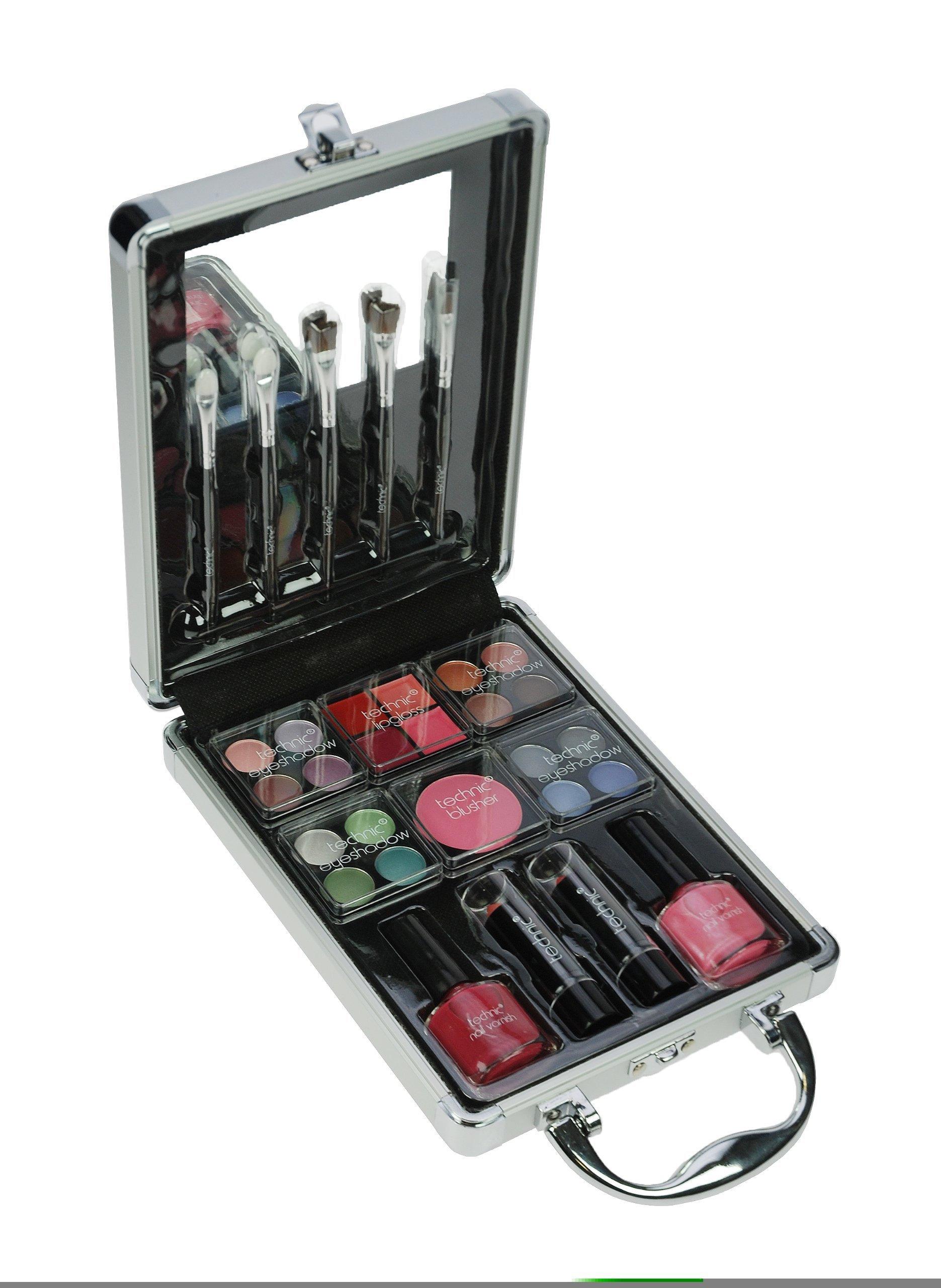 Makeup Set Palette Technic Eyeshadow Cosmetic Kit Case Professional ...