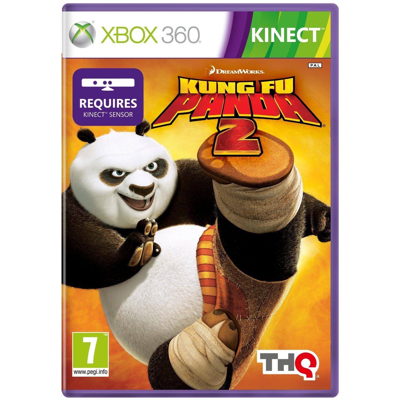 kung fu panda 2 xbox 360 game disney kinect pal euro cover. Black Bedroom Furniture Sets. Home Design Ideas