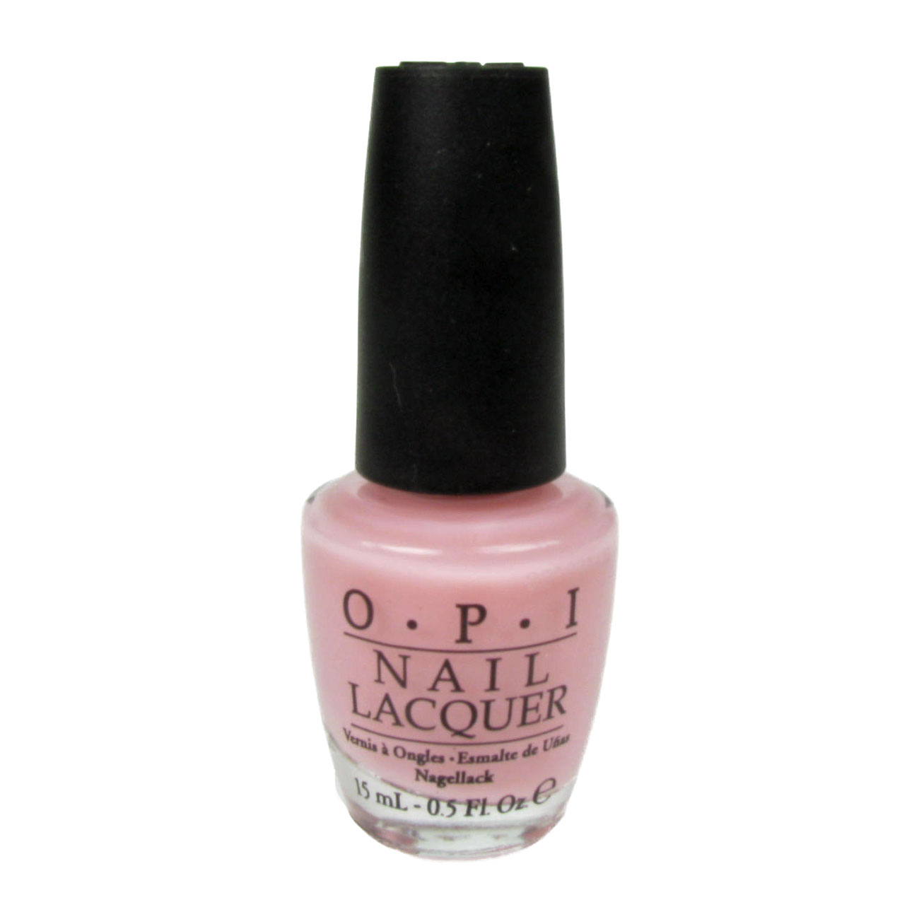 OPI  Nail Lacquer Polish Varnish 15ml In The Spot-Light Pink NL F27 Enlarged Preview