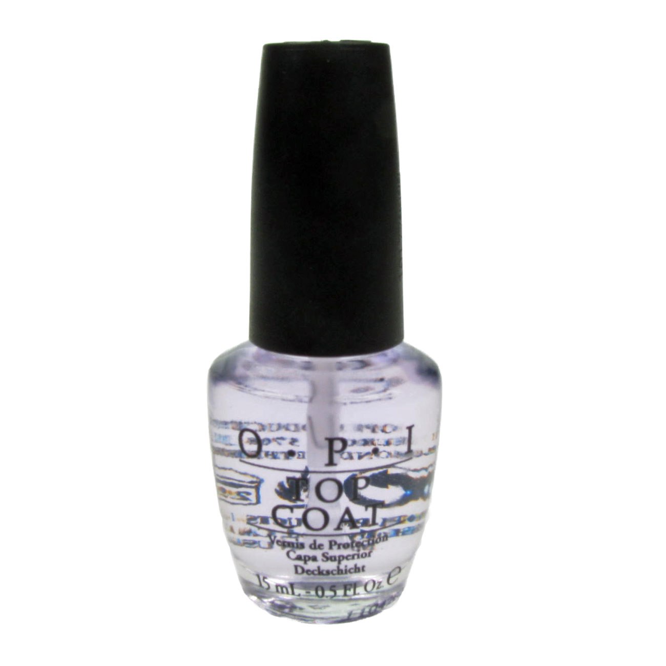 opi nail lacquer polish varnish 15ml opi top coat nt t30 ebay. Black Bedroom Furniture Sets. Home Design Ideas
