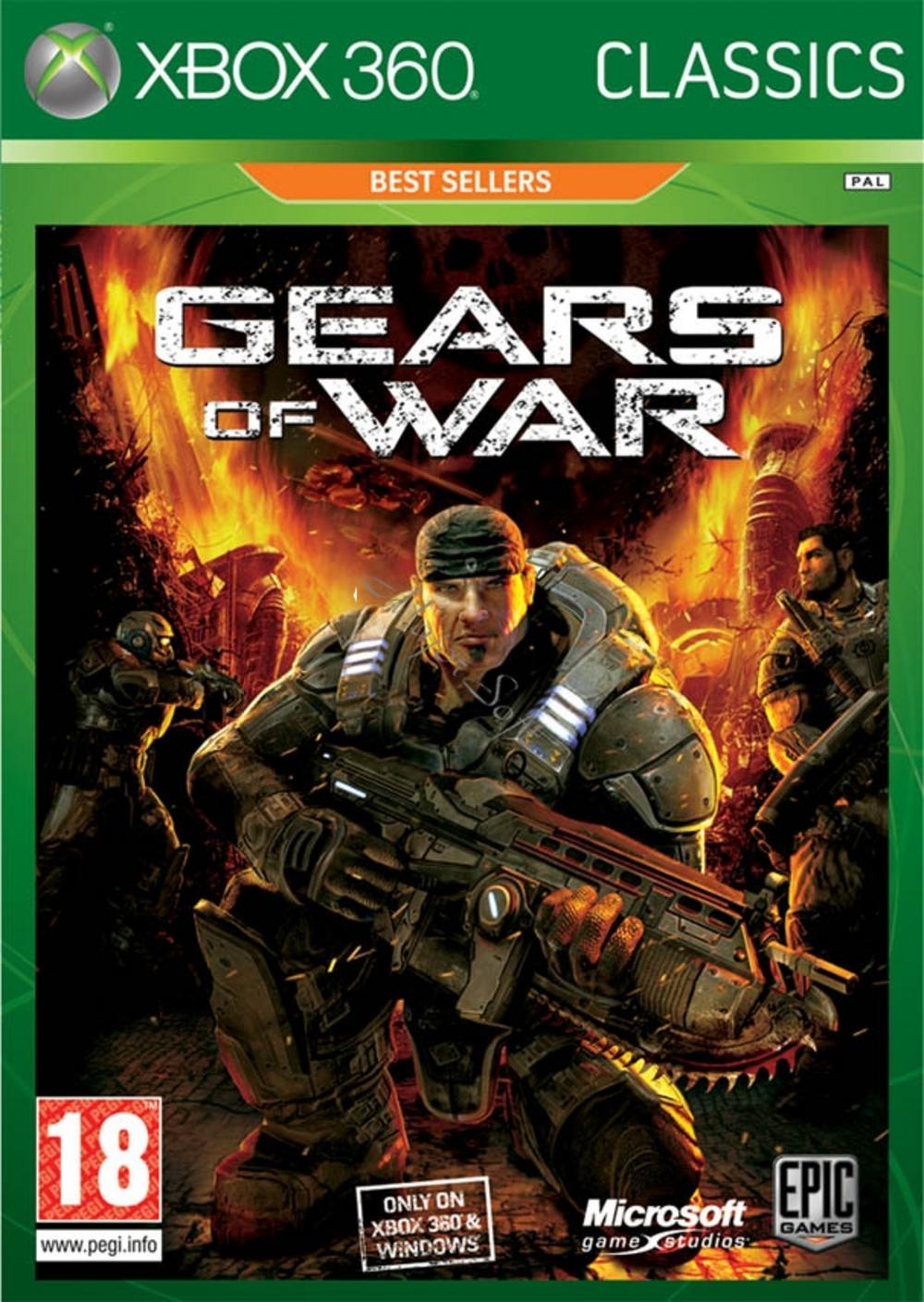 Fighting Games For Xbox 360 : Official game for xbox gears of war classic fighting