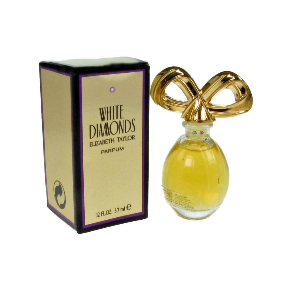Elizabeth Taylor White Diamonds Edt Mini Fragranced Perfume For Ladies 3 7ml Perfume Aftershave