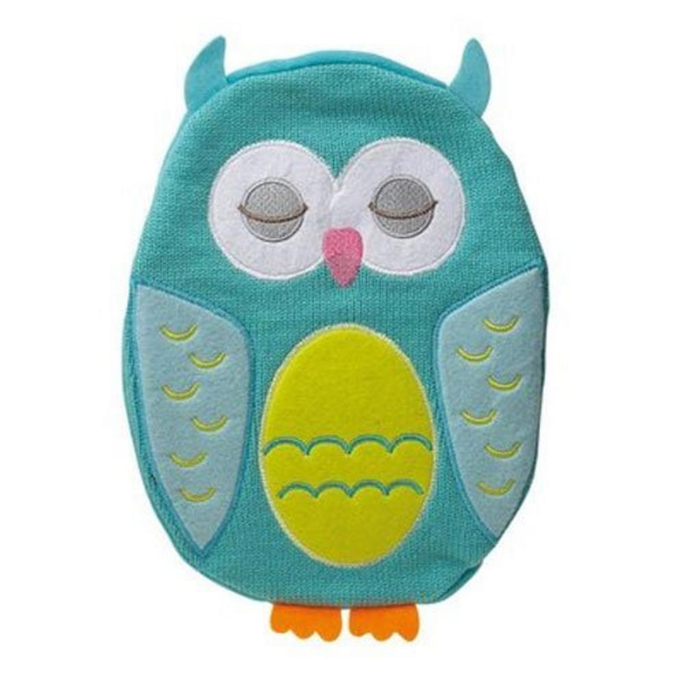 Owl Hot Water Bottle Cover Knitting Pattern : Blue Owl Hot Chicks Hot Water Bottle & Knitted Cover Hot WaterBottler - T...