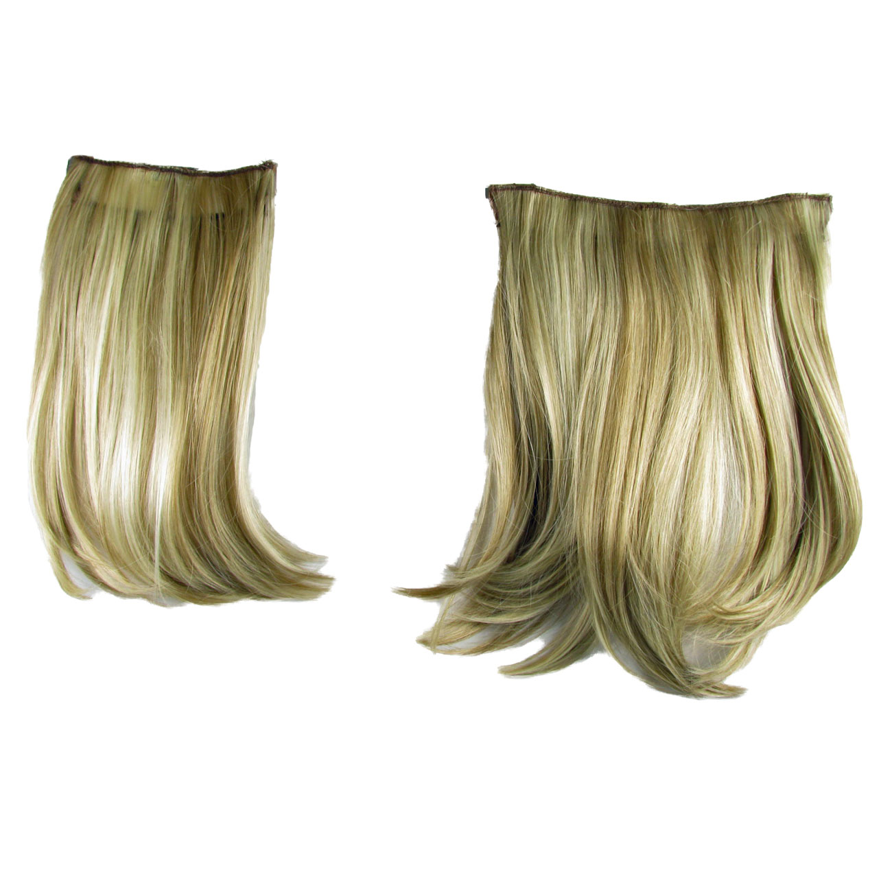 Ken Paves Hairdo 2 Two Piece Clip In Hair Extensions Golden Wheat 16