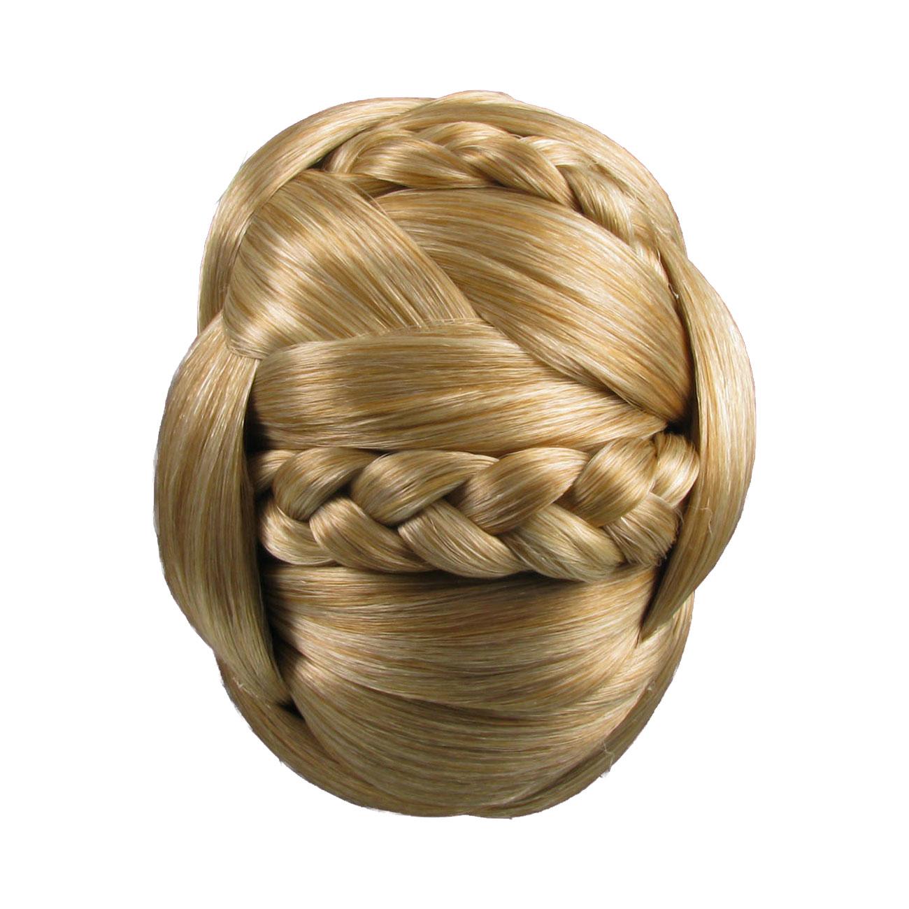 Braided Hair Bun Piece Hair Piece Chignon Braided