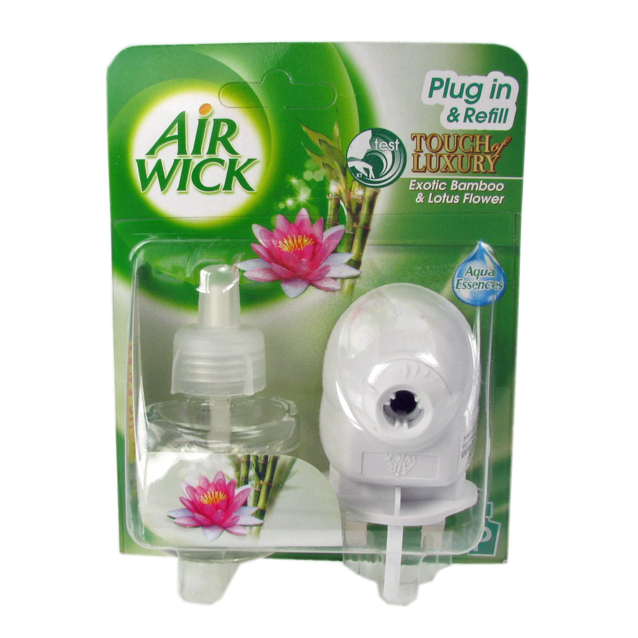 Air Wick Plug In & Refill Exotic Bamboo Lotus Flower Touch Of Luxury Enlarged Preview