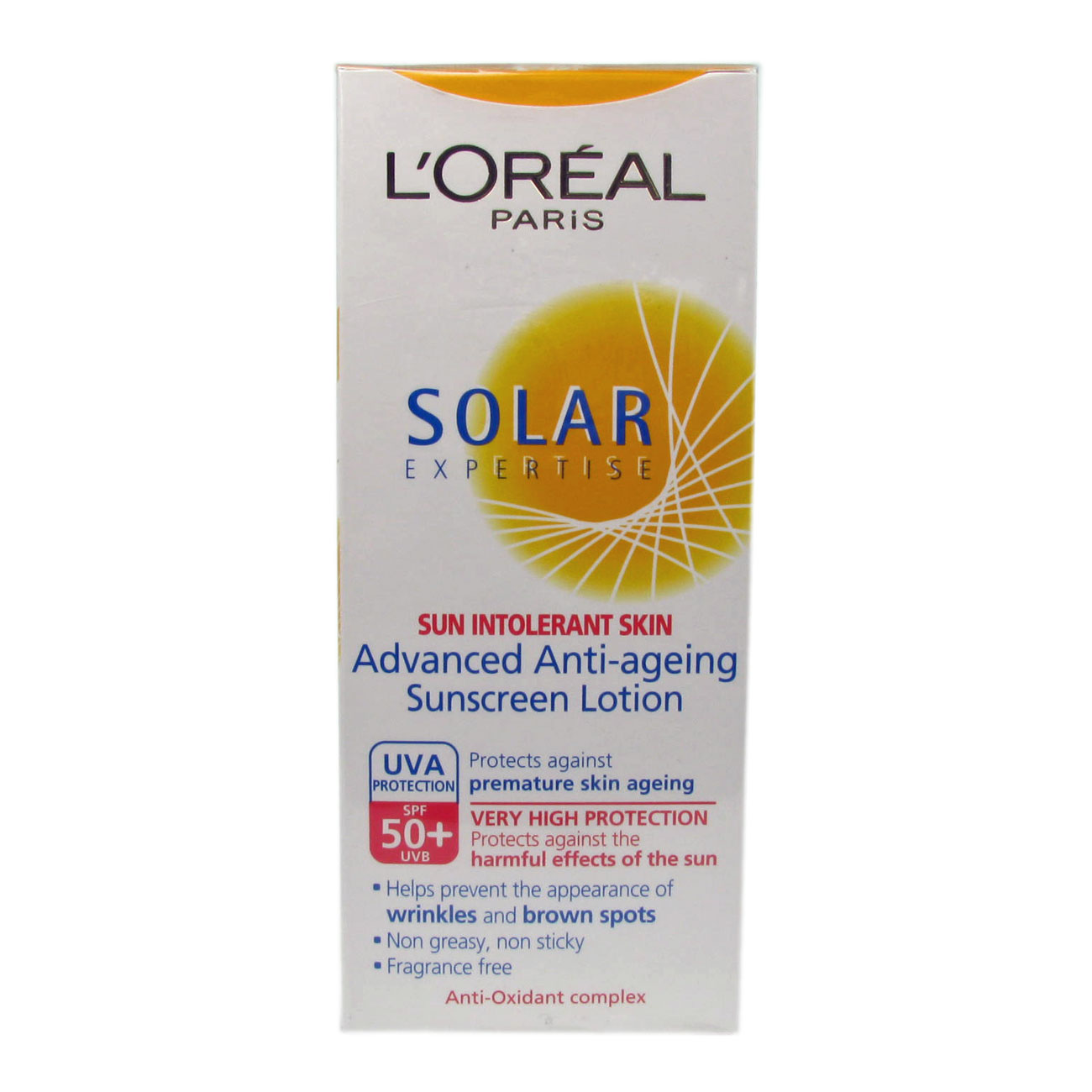 L Oreal Paris Solar Expertise Milk Spf50 150ml Anti