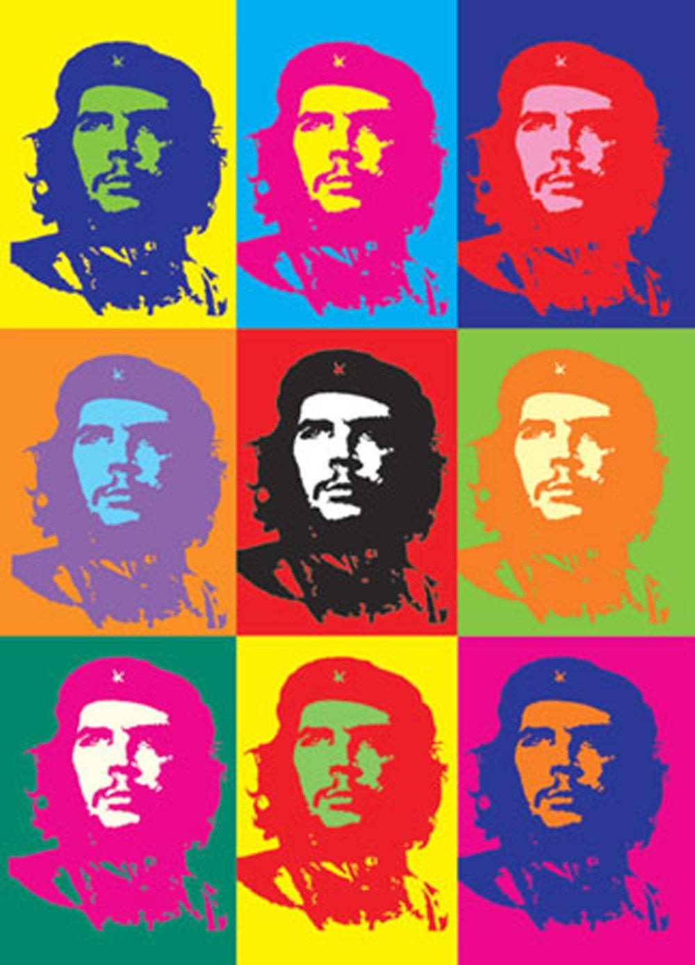 maxi poster che guevara pop art 61 x 1011 po7028 61cm x 24 x 36 inches. Black Bedroom Furniture Sets. Home Design Ideas