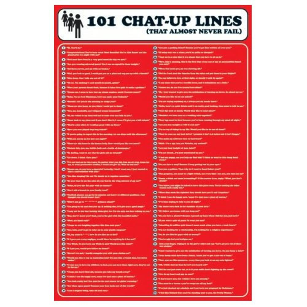Line up Posters Maxi Poster 101 Chat up