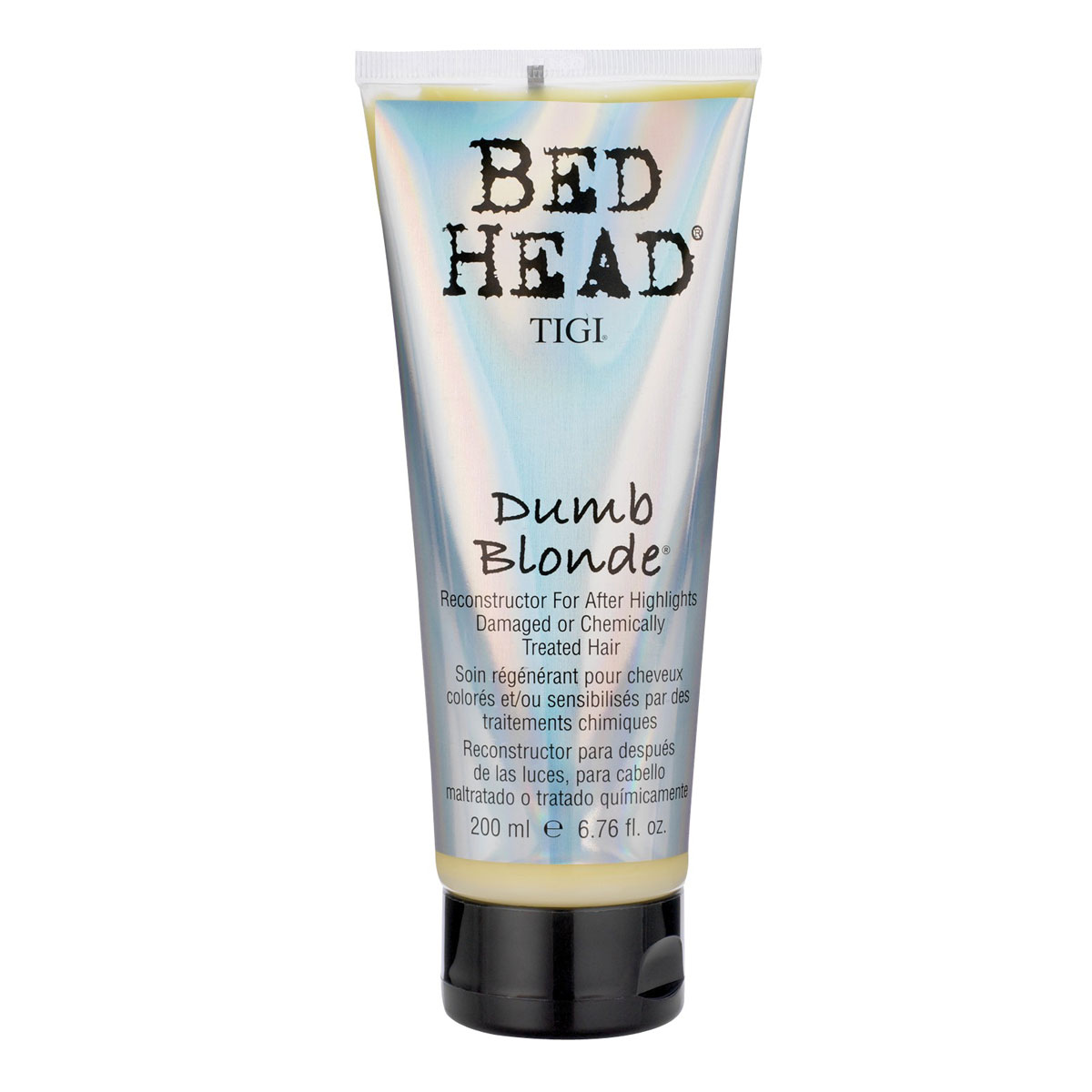 Tigi Bed Head Dumb Blonde Reconstructor Hair Serum 200ml Enlarged Preview