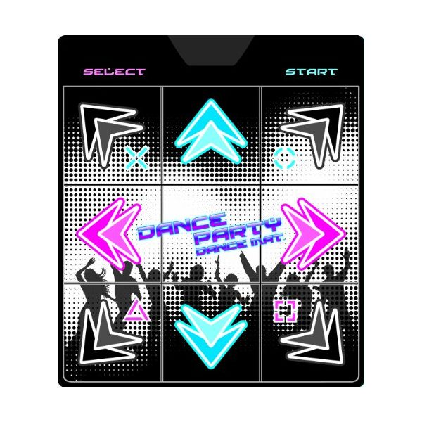Official Genuine Play Station Dance Party Gaming Dancing Mat Enlarged Preview