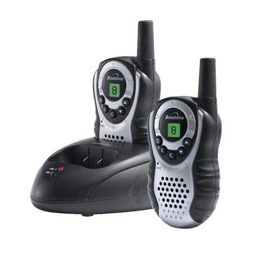 Binatone Latitude 150 Twin Two Way Radio Walkie Talkie Black & Silver  Enlarged Preview