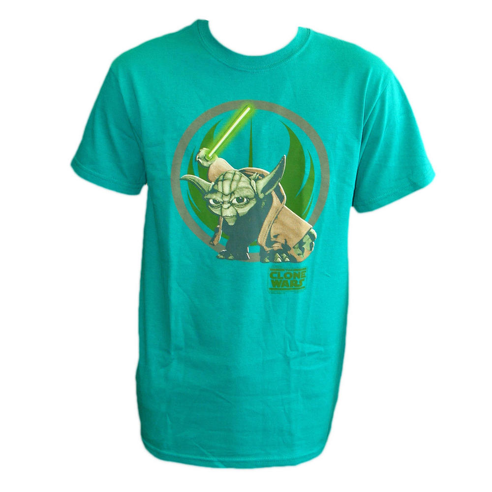 Official Star Wars Clone Yoda Green T Shirt Small T