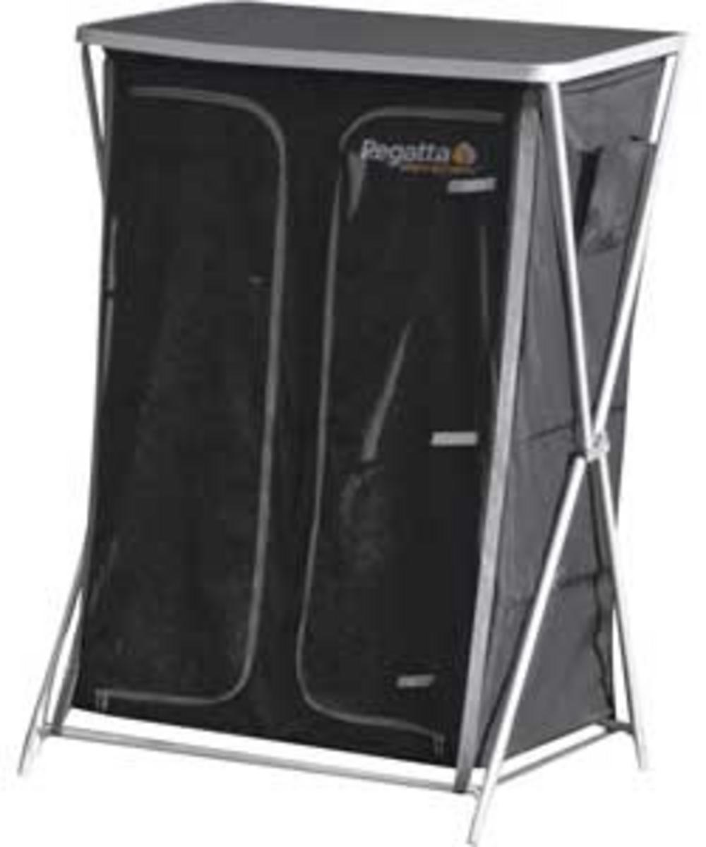 Regatta Folding Outdoor Portable Camping Storage Wardrobe