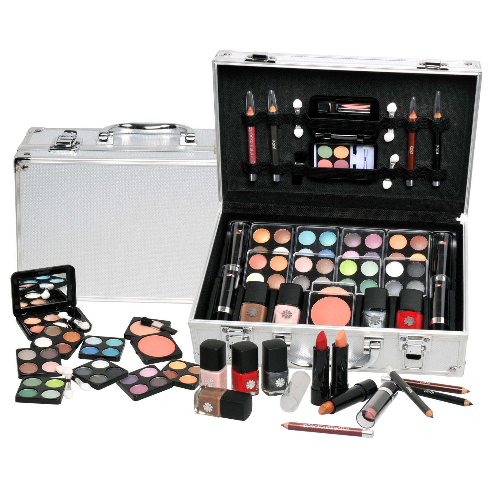 professional vanity case cosmetic make up urban beauty box travel carry gift set ebay. Black Bedroom Furniture Sets. Home Design Ideas