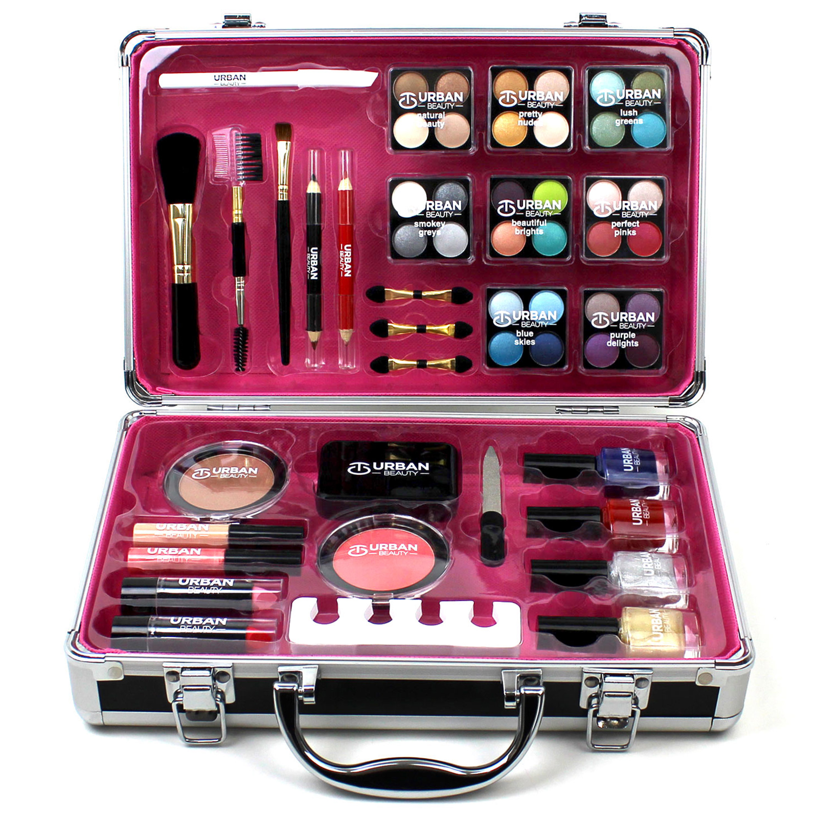 professional vanity case cosmetic make up urban beauty box. Black Bedroom Furniture Sets. Home Design Ideas