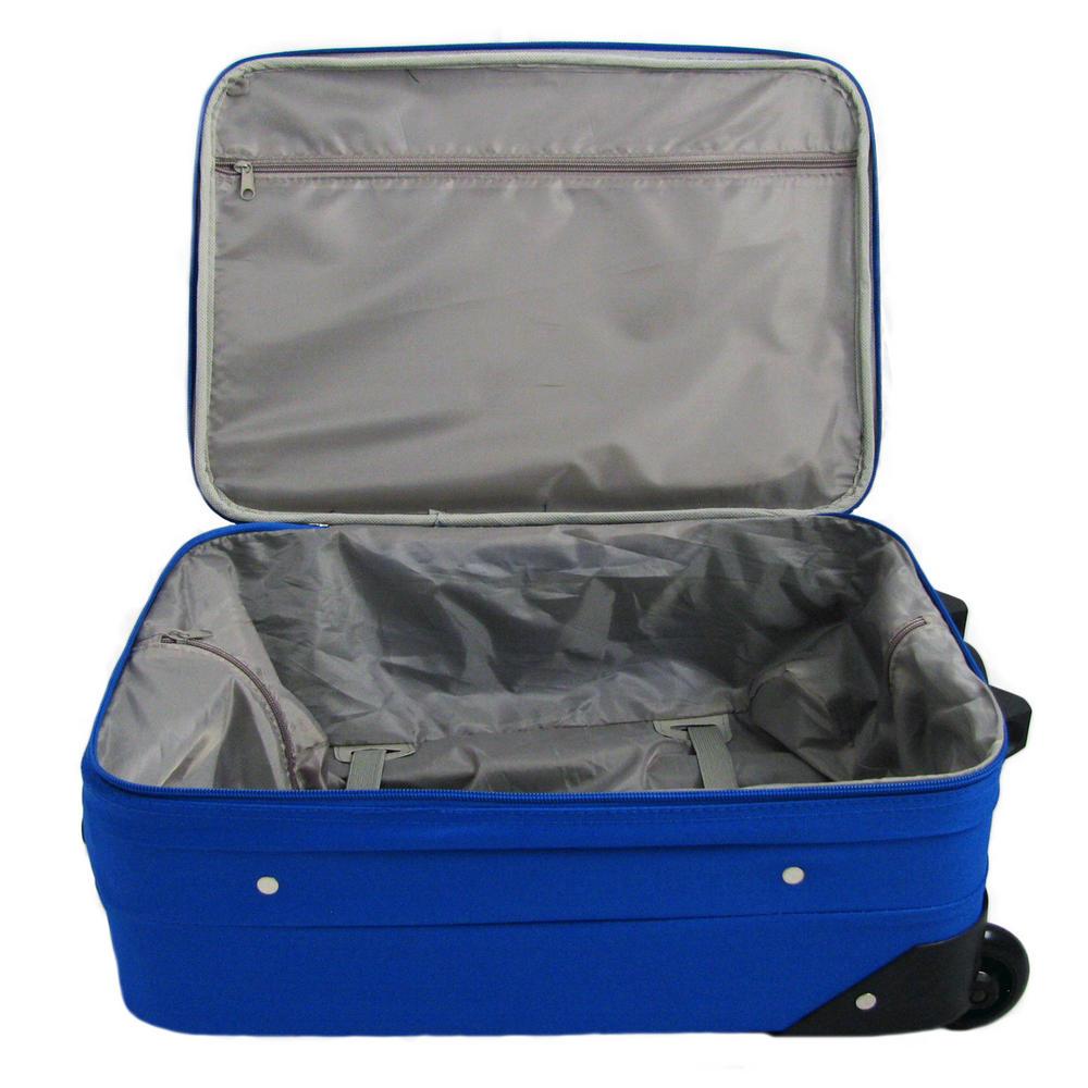 Blue Travel Pro Suit Case