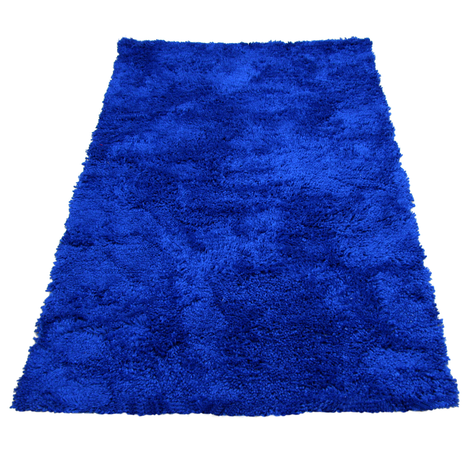Shaggy Blue Quality Thick Luxurious Extra Soft Large Rug