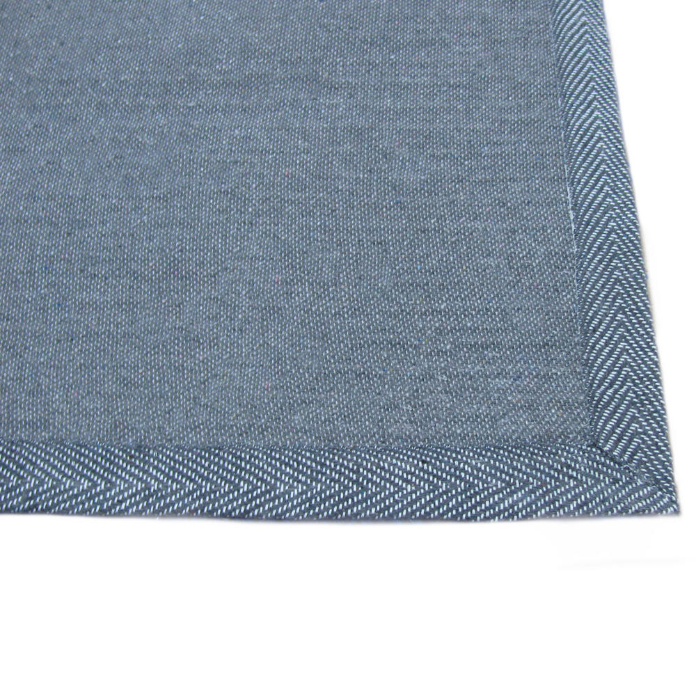 shaggy blue quality thick luxurious extra soft large rug. Black Bedroom Furniture Sets. Home Design Ideas