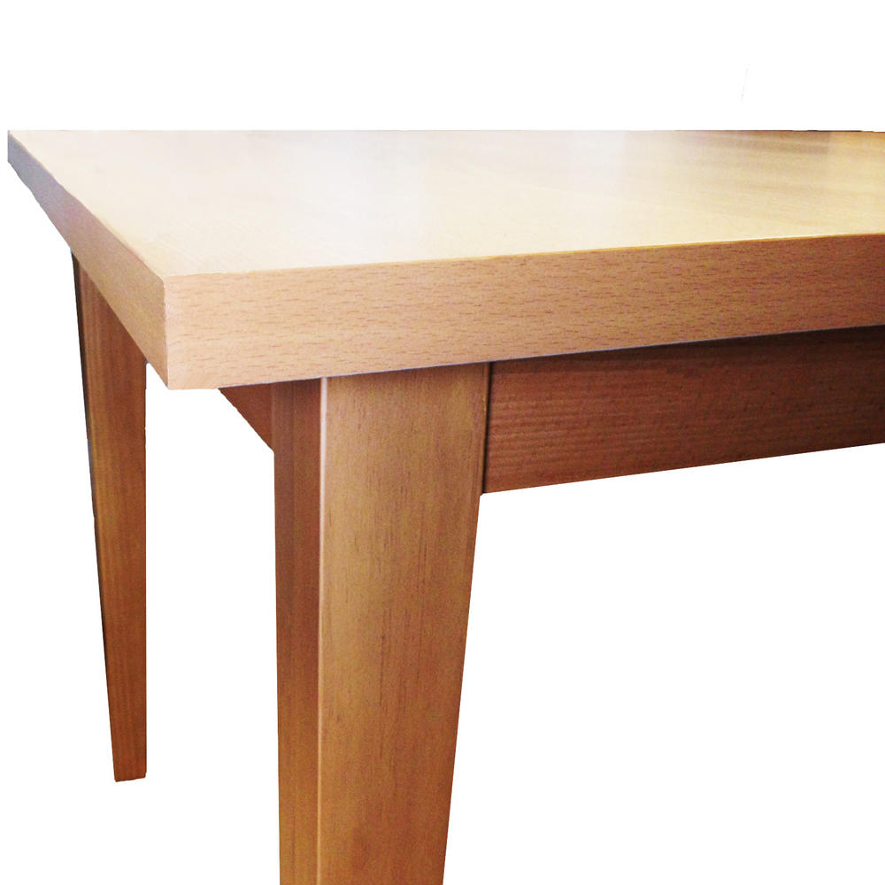 Winslow modern beech cm to extendable dining