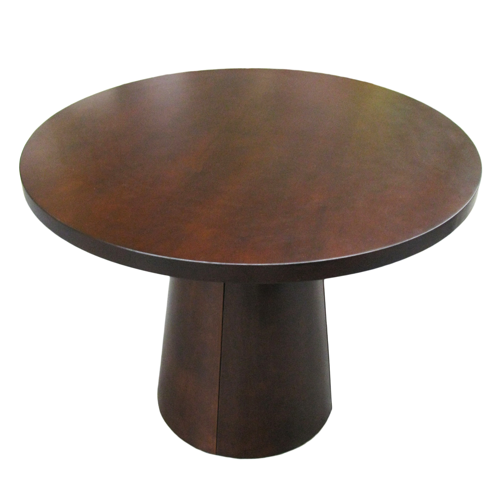 Ottago Brown Walnut Wooden Round Quality Kitchen Dining Room Table RRP