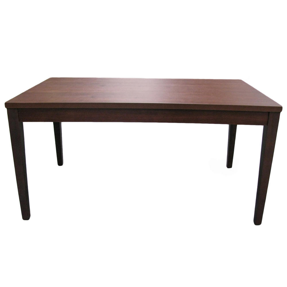 Walnut Kitchen Table: Winslow Walnut Solid Wood Veneer Dining Kitchen Table
