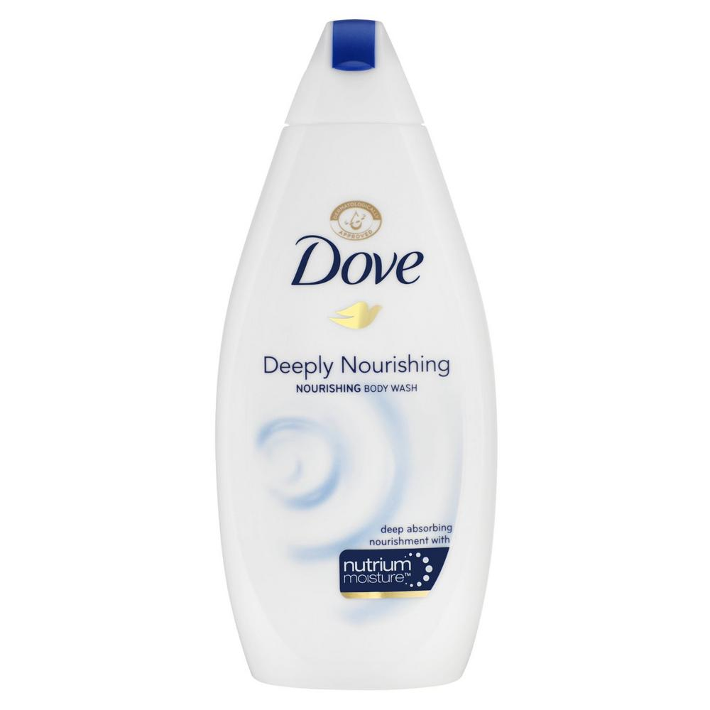how to use dove body wash